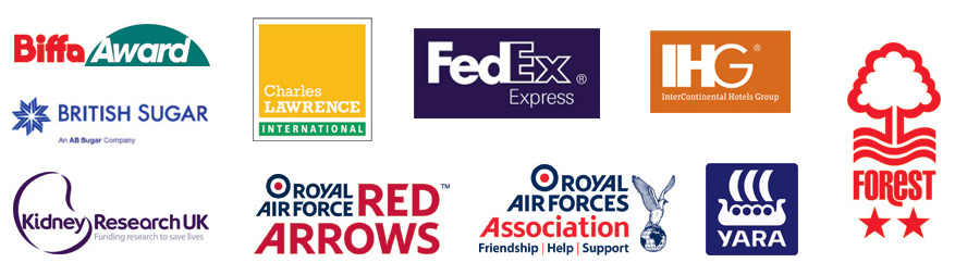 some of the clients we are proud to work with